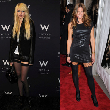 Tendance mode Taylor Momsen Kelly Bensimon