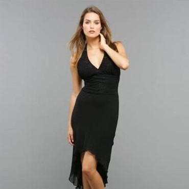 Robe cocktail noire - Pronuptia