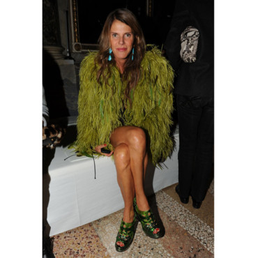 Anna dello Russo à la Fashion Week