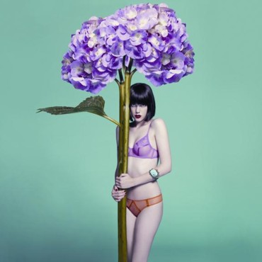 Lingerie Saint-Valentin : Jardin Gourmand de Chantal Thomass