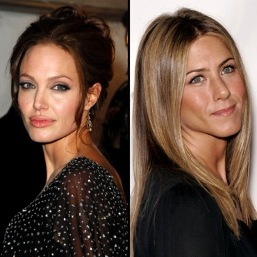 Angelina Jolie face à Jennifer Aniston