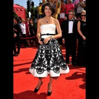 Photo : Lisa Edelstein aux Emmy Awards 2008