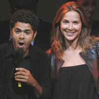 Photo : Mélissa Theuriau et Jamel Debbouze, un couple star