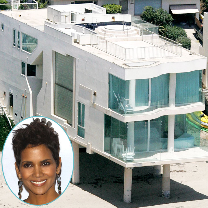 vues du ciel les plus belles maisons de stars malibu la maison de halle berry malibu. Black Bedroom Furniture Sets. Home Design Ideas