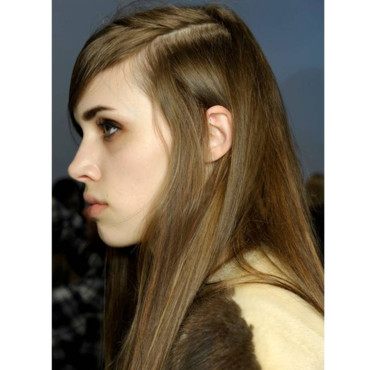 Céline Fashion Week coiffure coiffeur Paulo Guido