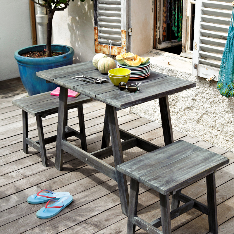 maisons du monde 32 ambiances outdoor d couvrir set de jardin dinan maisons du monde. Black Bedroom Furniture Sets. Home Design Ideas