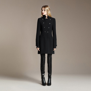 Zara octobre 2010 - Manteau officier 169 euros