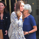 Kate Middleton à la sortie de la Royal Society Of Medicine à Londres, le 30 Juin 2014.