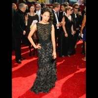 Photo : Sandra Oh aux Emmy Awards 2008