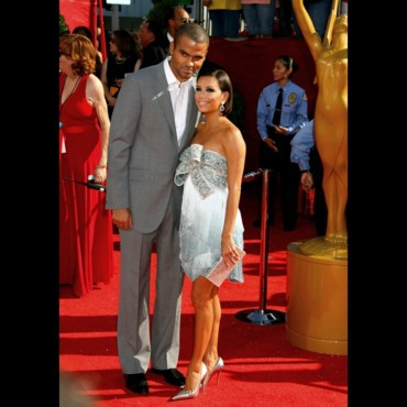 Emmy Awards 2008 : Tony Parker et Eva Parker