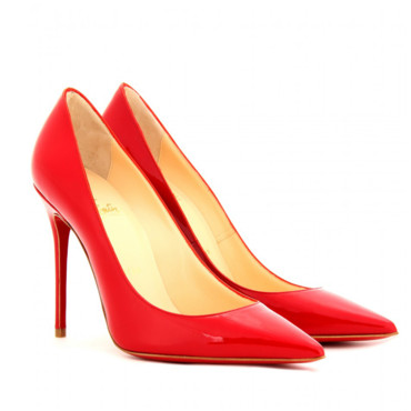Les escarpins rouges vernis Louboutin 425 euros sur My Theresa
