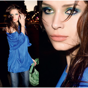 Tendances maquillage 2009 : look Couleurs Nature d