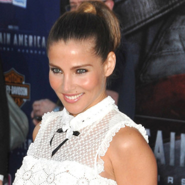 Elsa Pataky pour Captain America et sa queue de cheval