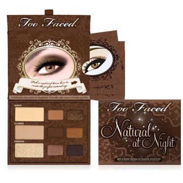 Palette Too faced Natural Eye Night 34 euros