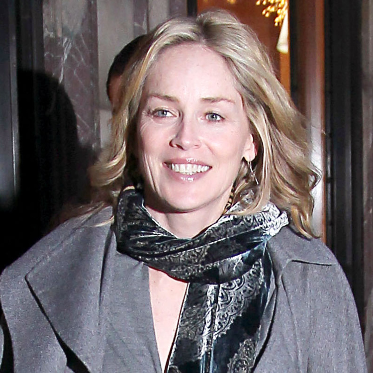 Sharon stone paris changement de coiffure beaut for Coupe de cheveux sharone stone