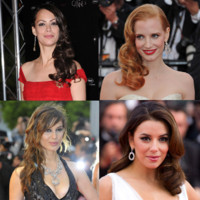 Cannes 2012 : Charlotte Casiraghi, Brnice Bejo... la coiffure one shoulder fait touner les ttes