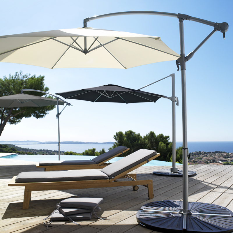 d co t 20 parasols tout nouveaux partir de 24 99 parasol d port malta castorama. Black Bedroom Furniture Sets. Home Design Ideas
