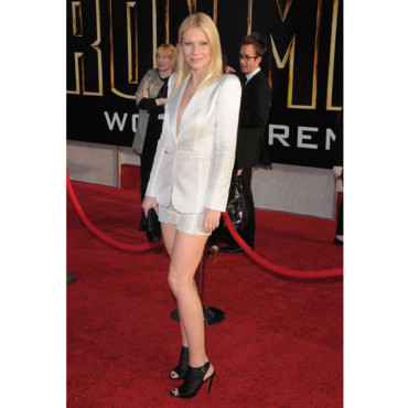 Gwyneth Paltrow en short Giorgio Armani