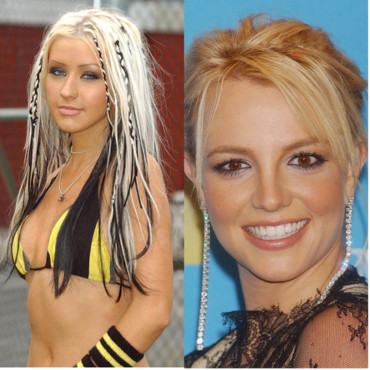 Christine Aguilera vs Britney Spears