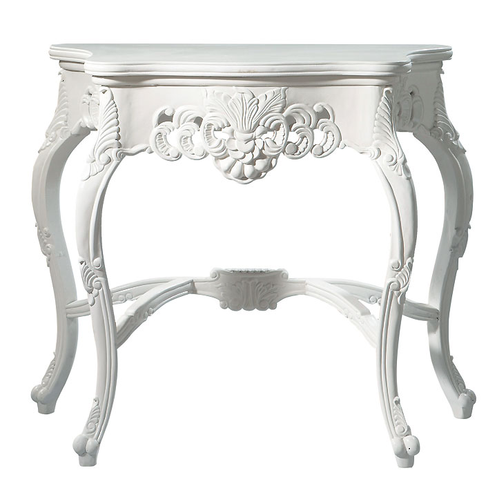 Desperate housewives la d co baroque de bree alias marcia cross console barocco maisons - Commode baroque maison du monde ...