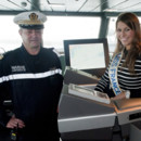 Laury Thilleman capitaine du navire