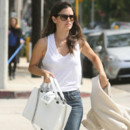 Rachel Bilson et son sac Boy Chanel