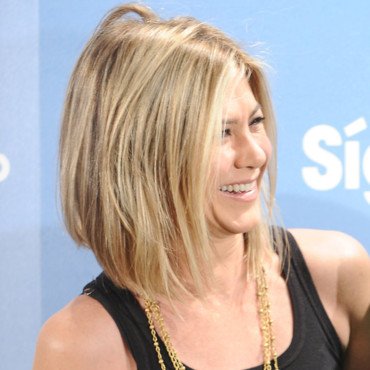 Jennifer Aniston et sa coupe au carré