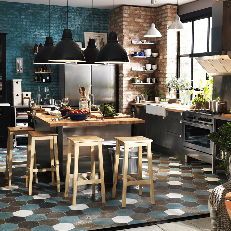 cuisine ikea style bistrot pr l vement d 39 chantillons et une bonne id e de. Black Bedroom Furniture Sets. Home Design Ideas