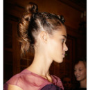 Alexis Mabille Fashion Week coiffeur Odile Gilbert