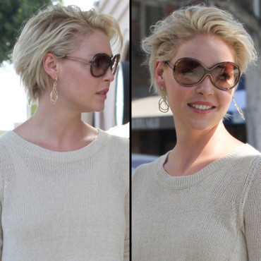 Katherine Heigl cheveux courts