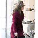 Pippa Middleton dans les rues de Londres le week end du 23 novembre 2013