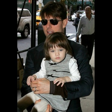 Suri Cruise en octobre 2007