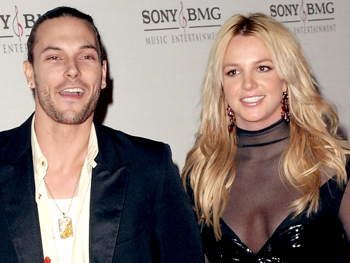 Britney Spears et Kevin Federline