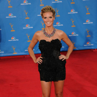 Heidi Klum aux Emmy Awards