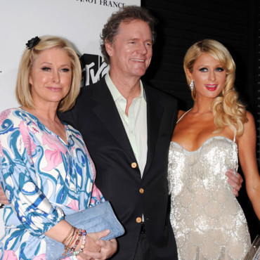 Paris Hilton et ses parents Katy et Rick