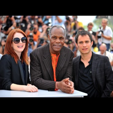 people : Julianne Moore, Danny Glover et Gael Garcia Bernal à Cannes 2008