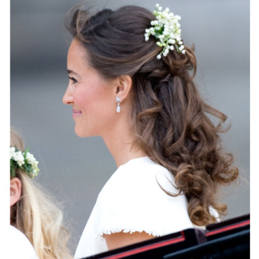 Coiffure Pippa Middleton mariage Prince William Kate Middleotn