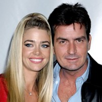 Photo : Denise Richards et Charlie Sheen