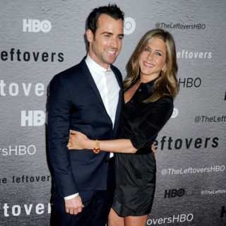 Justin Theroux et Jennifer Aniston à la première du NYU Skirball Center à New York City, le 23 Juin 2014