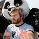 people : Jack Black et le panda
