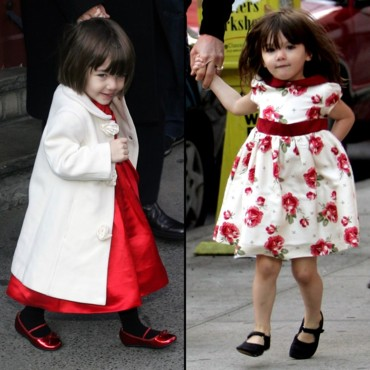 Suri Cruise, la petite princesse d'Hollywood