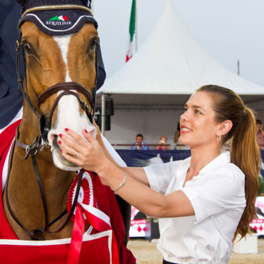 Charlotte Casiraghi queue de cheval International Jumping à Monte Carlo juin 2012