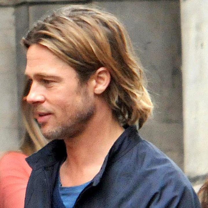 Brad pitt hair world war z