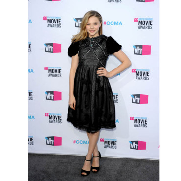 Critic's Choice Awards Chloé Moretz en Chanel
