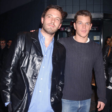 Ben Affleck et Matt Damon en 2001, à New York