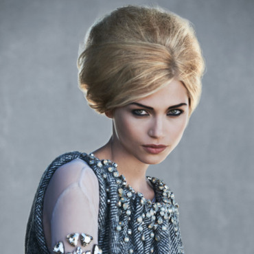 Schwarzkopf collection 2012 Angel Looks Saint Econic chignon