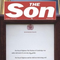 La presse britannique célèbre le Royal Baby de Kate Middleton