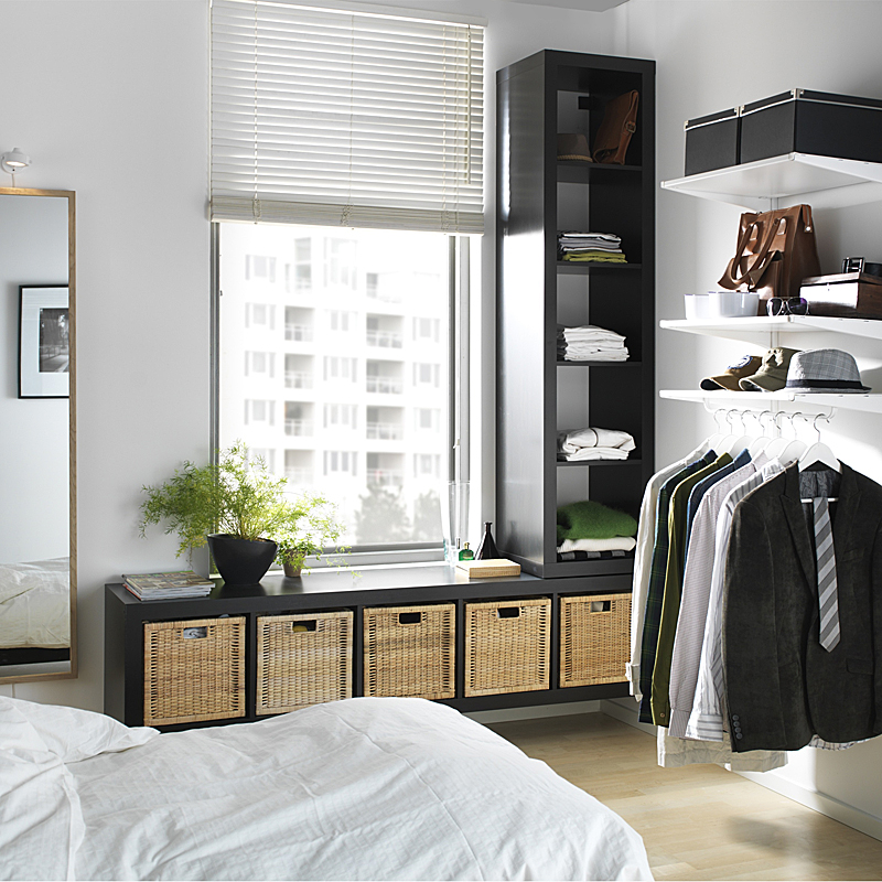 dressing ikea armoires meubles et astuces pour organiser son rangement structure algot. Black Bedroom Furniture Sets. Home Design Ideas