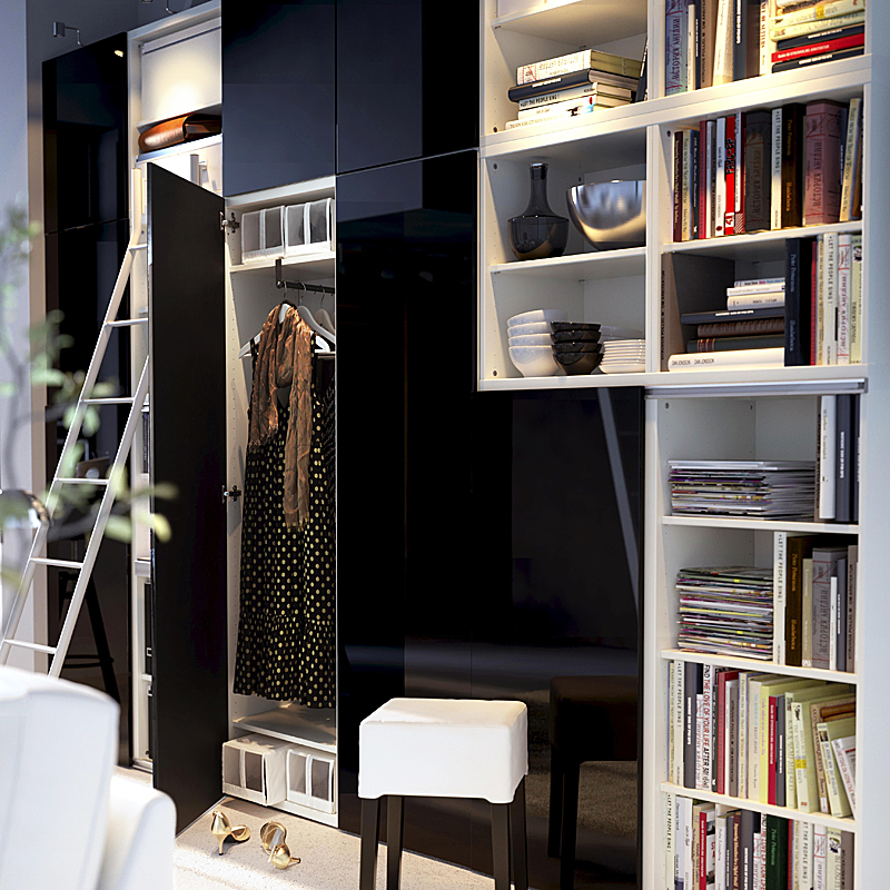 ikea armoire odda free ikea hacks diy ways to make cheap wardrobes look more expensive. Black Bedroom Furniture Sets. Home Design Ideas