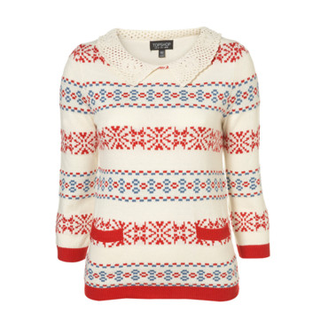 Pull avec flocons Top Shop 43e